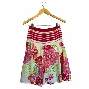 Life Style Petite Floral Skirt